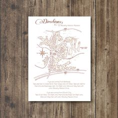WEDDING MAP Wedding Keep sake Illustrated Map by Meant4amoment, $100.00