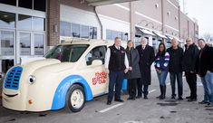 The Salvation Army Unveils Custom Jr. Bed & Bread Truck - Eastern Michigan Detroit Area, Metro Detroit, Commercial Van, Cargo Van, Ford Transit, Ford Motor Company, Children And Family, New Friends, Jr