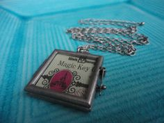 classic vintage Walt Disney World Magic Key coupon necklace by ImAsMADaSaHaTTeR, $20.00
