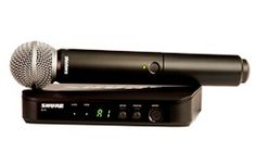 Shure Now Shipping BLX Wireless Microphone Systems