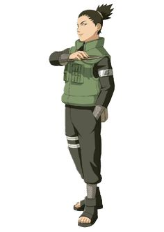 Shikamaru render [Ultimate Ninja Storm by on DeviantArt