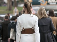 New York Fashion Week Street Style F/W 2012, Day 7