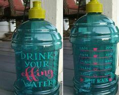 motivational water bottle – Etsy