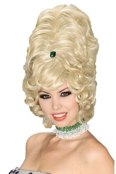 Blonde Beehive Wig for Women - Costume Wigs for Adults | Masquerade Express