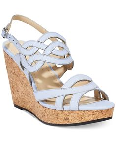 Adrienne Vittadini Camber Platform Wedge Sandals - All Women's Shoes - Shoes  - Macy's