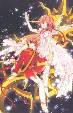 Awe I just love Sakura and Syaoran like oh my gosh they are such an adorable couple