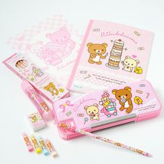 """chii-sweets: """" Rilakkuma Candy & Cake Set // $ 31.99 // Register HERE for a 5$ coupon """""""