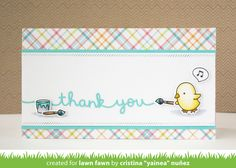 the Lawn Fawn blog: Lawn Fawn Intro: Scripty Mom, Scripty Friends, Mother's Day Border + Thank You Border