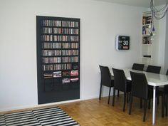 Cd-säilytys Bookcase, Shelves, Home Decor, Shelving, Decoration Home, Room Decor, Book Shelves, Shelving Units, Home Interior Design