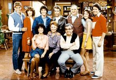 The Happy Days cast in the final seasons after Ron Howard left in 1980 and returned only for occasional guest appearances.