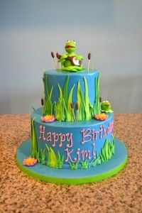 Kermit the Frog Birthday Cake Sugarland Raleigh Chapel Hill