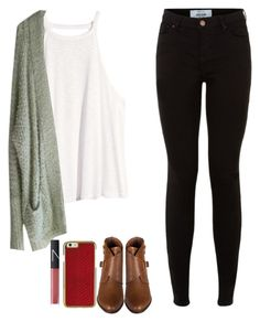 """winter"" by georgiasweetpeach on Polyvore featuring H&M, Free People and NARS Cosmetics"