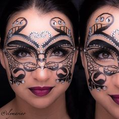 Halloween idea #masquerade - @elymarino