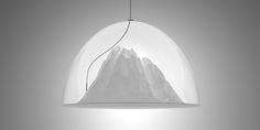 Mountain View lamp by Dima Loginoff Design