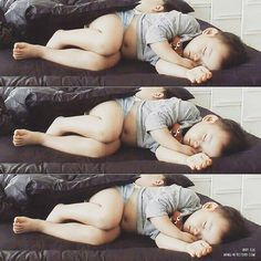 Minguk is sleeping