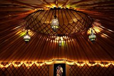 yurt Under Cover: 10 Tent Styles for your Wedding Day