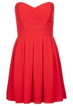 ELIDA CHIFFON - Cocktailkleid / festliches Kleid - red