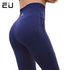 b279058988 EU Womens Yoga Pants High Elasticity High Waist Yoga Leggings for Women Hip  Up F #
