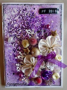Violet Christmas Card II