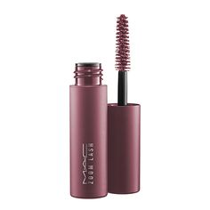 Mac Little Mac Zoom Lash Mascara - Blue Charge Colored Mascara, Blue Mascara, Mascara Review, Mascara Tips, Smudge Proof Mascara, Little Mac, Black Lashes, Contour Brush, Mac Mini
