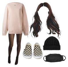 """""""14:50 pm"""" by georgia78 ❤ liked on Polyvore featuring Wolford, Off-White, Vans and Carhartt"""