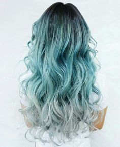 Imagen de blue, hair, and hairstyle