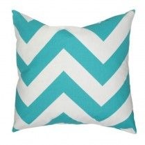 Colorful turquoise pillow for the #bedroom or living room!