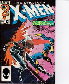 Uncanny XMen 1963 1st Series 201 January 1986 Issue by ViewObscura, $13.00
