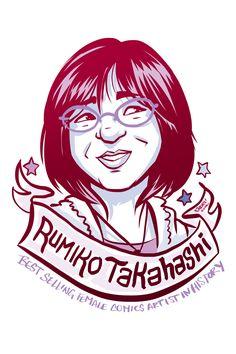 #100Days100Women Day 3: Rumiko Takahashi, Author of Ranma ½, InuYasha, Urusei Yatsura, and more: https://en.wikipedia.org/wiki/Rumiko_Takahashi