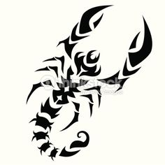 Scorpio Zodiac Sign Vector Art   Thinkstock