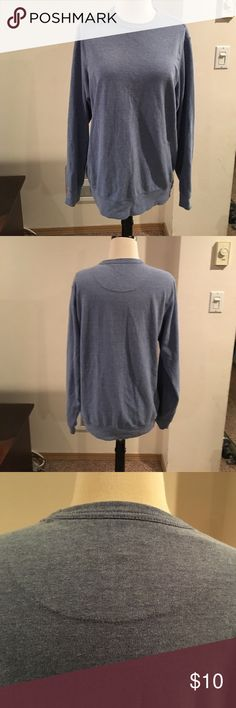 Sweatshirt Lite blue sweatshirt . Good shape . No stains or rips. Smoke free home . George Tops Sweatshirts & Hoodies