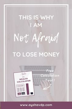 Afraid of losing money if you start investing? Read the story of Roberta, the worst investor in the world who still came out on top to get rid of your fears. Investing In Stocks, Investing Money, Stock Investing, Wealth Management, Money Management, Property Management, Investing For Retirement, Early Retirement, Investment Firms