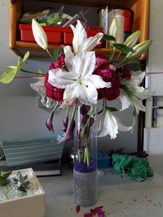 Vase Transparent, Glass Vase, Table Decorations, Furniture, Home Decor, Planting Flowers, Plants, Decoration Home, Room Decor