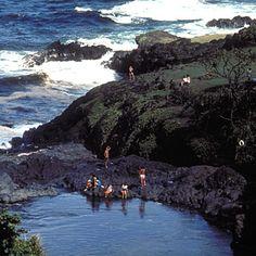 Best ocean-view swimming hole: Haleakala National Park, Maui, Hawaii - Best National Park Beach Vacations - Sunset