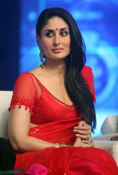 #kareena #kapoor #red #saree #Nice