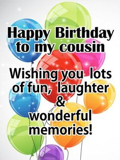 Birthday Quotes : Send your warmest birthday wishes to a wonderful cousin with this beautiful birthday card. A candle-lit cak. - The Love Quotes Cousin Birthday Quotes, Happy Birthday Niece, Birthday Reminder, Birthday Quotes For Him, Birthday Wishes For Myself, Cousin Quotes, Happy Birthday Funny, Happy Birthday Images, Birthday Memes