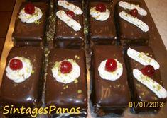 Greek Sweets, Greek Desserts, Greek Recipes, No Bake Desserts, Dessert Recipes, Pastry Recipes, Cookbook Recipes, Cookie Recipes, Greek Cake