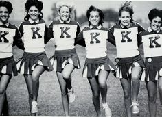 #ThrowbackThursday Vintage Cheer Kickline! #Vintage #Cheerleaders