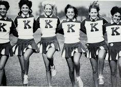 #ThrowbackThursday Vintage Cheer Kickline! #Vintage #Cheerleaders