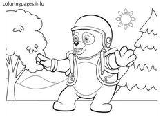 dibujos de oso agente especial a color Buscar con Google oso