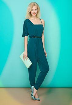 vestidos-de-comunion-para-madres-mono-asimetrico-verde.jpg (1100×1600)