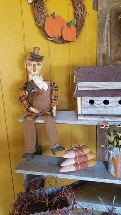 Primitive Fall, Bird, Outdoor Decor, Home Decor, Decoration Home, Room Decor, Birds, Home Interior Design, Fall Decorating