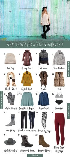What to Pack for a Cold Weather Trip | The Blonde Abroad