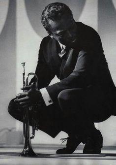Miles Davis is Kind Of Blue. :)