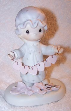 You Have Touched So Many Hearts 1983 Precious Moments Figurine.