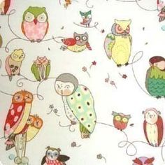Spotted+Owl+in+Natural+Alexander+Henry+Fabric+One+by+BellaFabrics,+$8.75