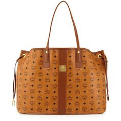 Mcm Liz Reversible Shopper Tote Bag