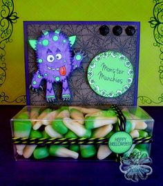 Created by Jamie using Monster Mash, Halloween Kisses and treat box. http://jadedblossom.bigcartel.com/product/monster-mash-4x6