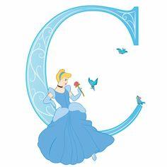 Disney Alphabet - C for Cinderella | Disney Alphabet Printables | Printables | Disney Family.com