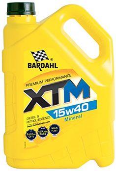 HUILE MOTEUR BARDAHL XTM 15W40 Minérale – Essence & Diesel 5L